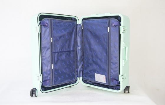 Bộ 2 vali khung nhôm Trip A09 size 50cm+60cm xanh đen