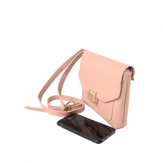 Túi thời trang Verchini màu hồng 02004183