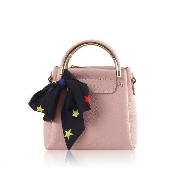 Túi xách thời trang Verchini màu hồng 02003560