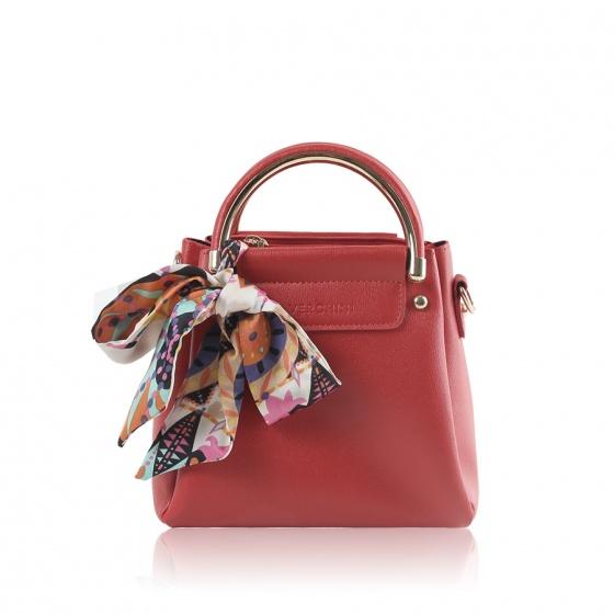 Túi xách thời trang Verchini màu đỏ 02003556