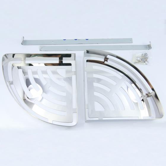 Kệ rổ treo góc nhà tắm nhà bếp Inox 304 Eurover-MG2 NT1738