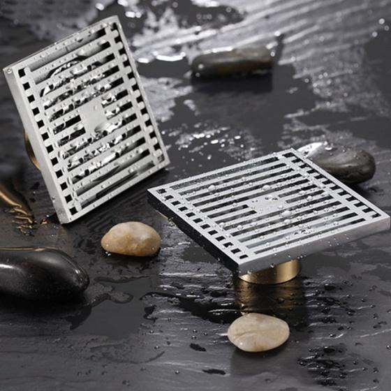 Phễu thoát sàn chống mùi và côn trùng Zento ZT525 (100*100mm)