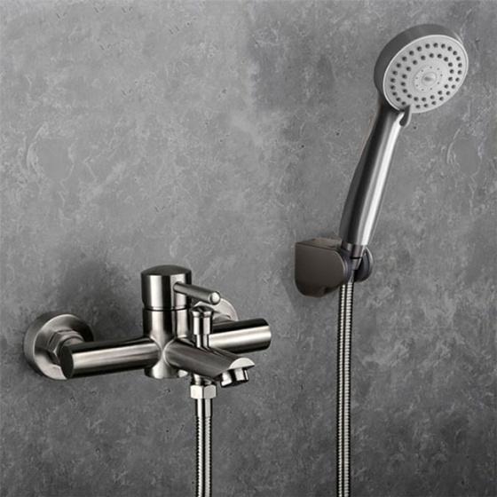 Bộ sen tắm nóng lạnh inox Zento SUS6066