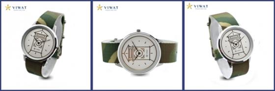 Viwat Sai Gon Nam VW-106S dây Nato xanh vàng