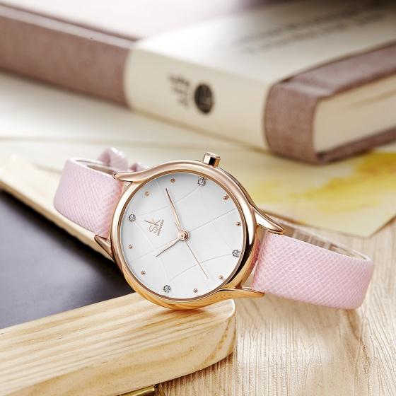 Đồng hồ nữ chính hãng Shengke UK K8013L-04