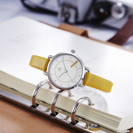 Đồng hồ nữ chính hãng Shengke Korea K8032L-02