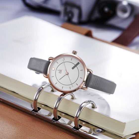 Đồng hồ nữ chính hãng Shengke UK K8032L-03(RG)
