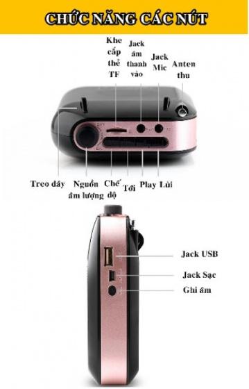 Máy trợ giảng Aporo T9 2.4G không dây