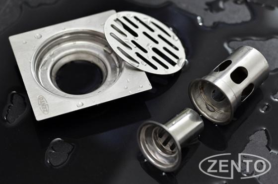 Phễu thoát sàn chống mùi hôi inox Zento TS109