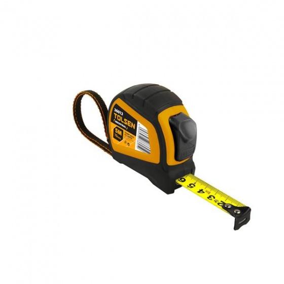 Thước cuộn tự động (công nghiệp) 8mx25mm Tolsen 36015