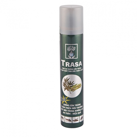 Chai xịt phòng & chống côn trùng Trasa 120 ml