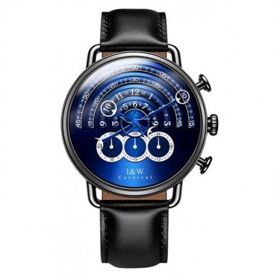 Đồng hồ nam dây da Carnival IW816.142.02