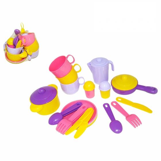 Bộ đồ chơi nấu ăn cho 3 người Polesie Toys
