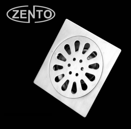 Phễu thoát sàn chống mùi hôi inox Zento TS122-L