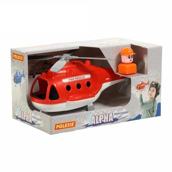 Máy bay trực thăng cứu hỏa Alpha đồ chơi Polesie Toys
