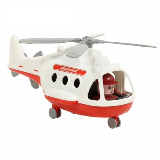 Máy bay trực thăng cứu thương Alpha đồ chơi Polesie Toys