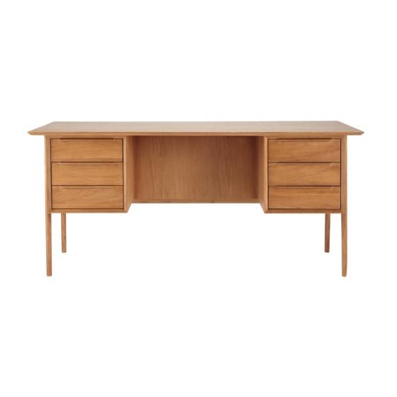 Bàn làm việc Portobello gỗ tự nhiên - Cozino
