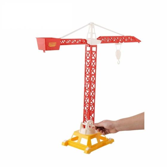 Cần cẩu tháp số 2 ( 4 bánh ) đồ chơi Polesie Toys