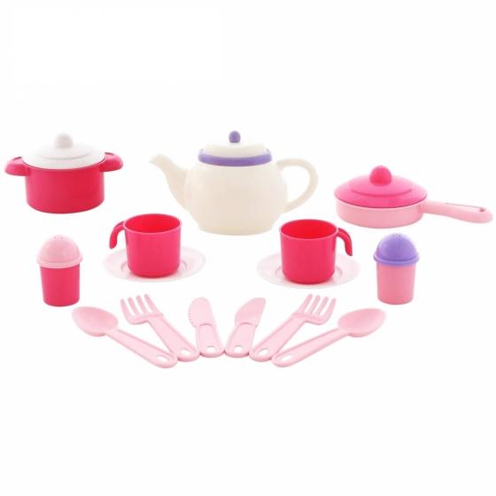 Bộ đồ chơi nhà bếp Nasten'ka cho 4 người ( 29 chi tiết ) Polesie Toys