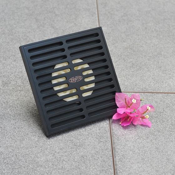 Thoát sàn chống mùi Black series ZT680-1B