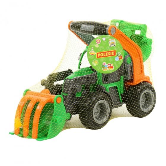 Máy xúc Griptrac đồ chơi Wader Quality Toys