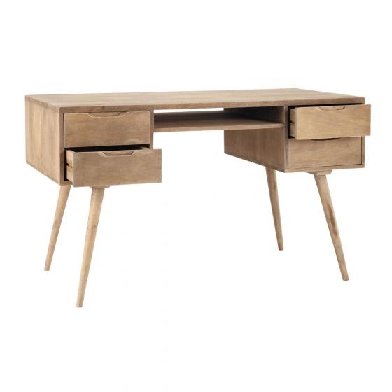 Bàn làm việc Trocadero gỗ tự nhiên- Cozino