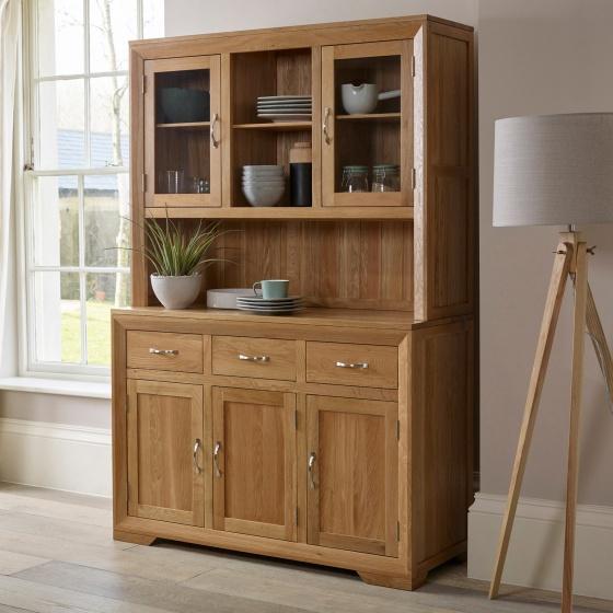 Tủ bếp lớn Camber gỗ sồi - Cozino