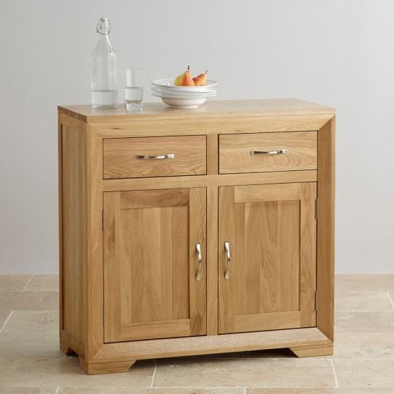 Tủ chén nhỏ Camber gỗ sồi  - Cozino