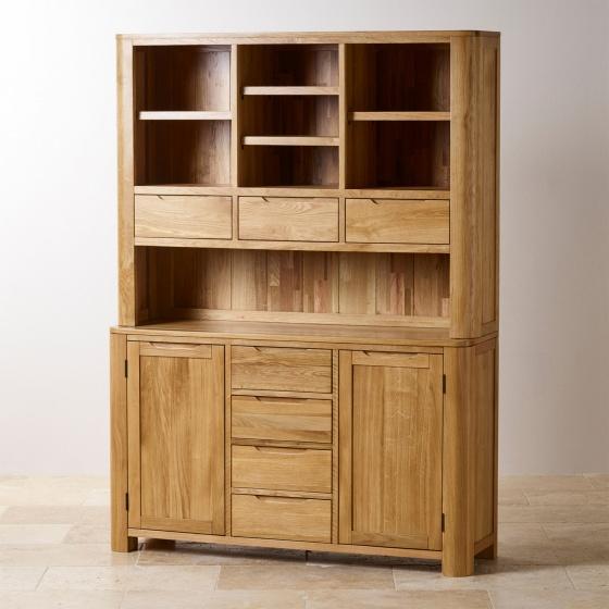 Tủ bếp lớn Emley gỗ sồi 1m4 - Cozino