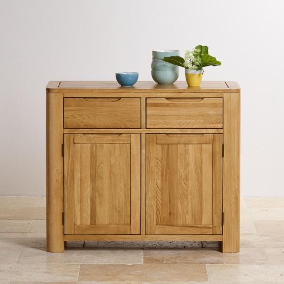 Tủ chén Emley nhỏ gỗ sồi 1m - Cozino