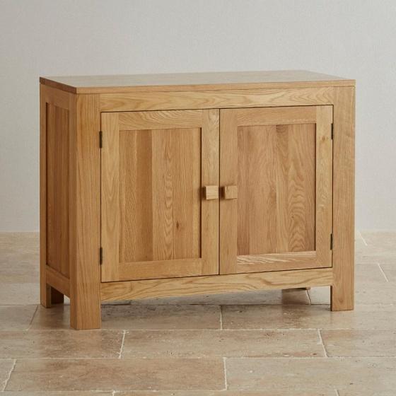 Tủ chén nhỏ Capri gỗ sồi 1m - Cozino