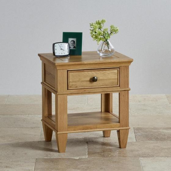 Tủ đầu giường Holy 1 ngăn gỗ sồi - Cozino