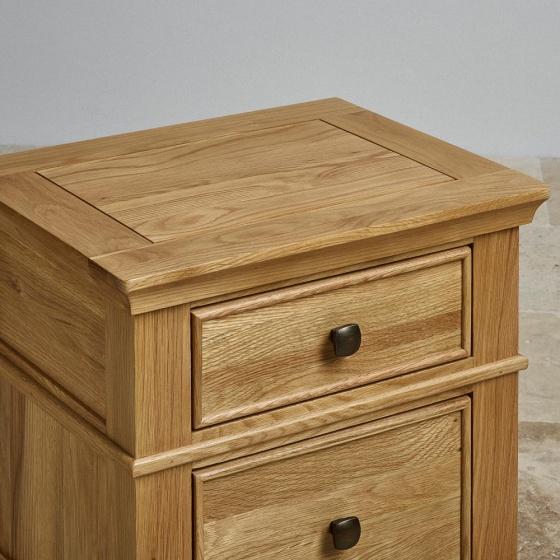 Tủ đầu giường Holy 2 ngăn gỗ sồi - Cozino