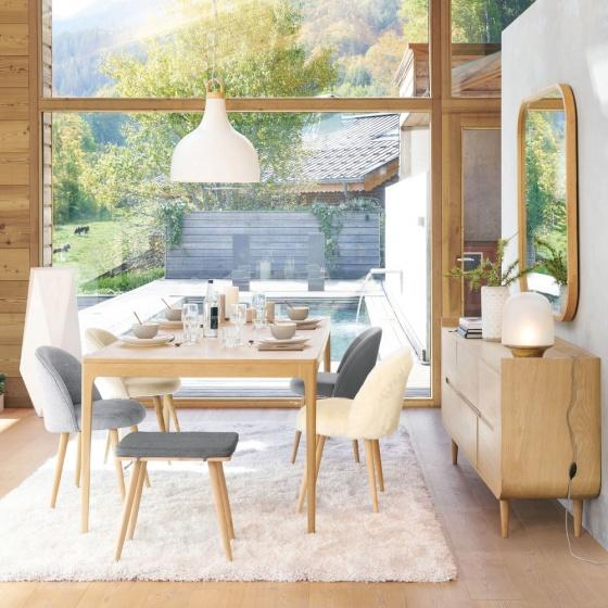 Bàn sofa Sunberry gỗ tự nhiên- Cozino