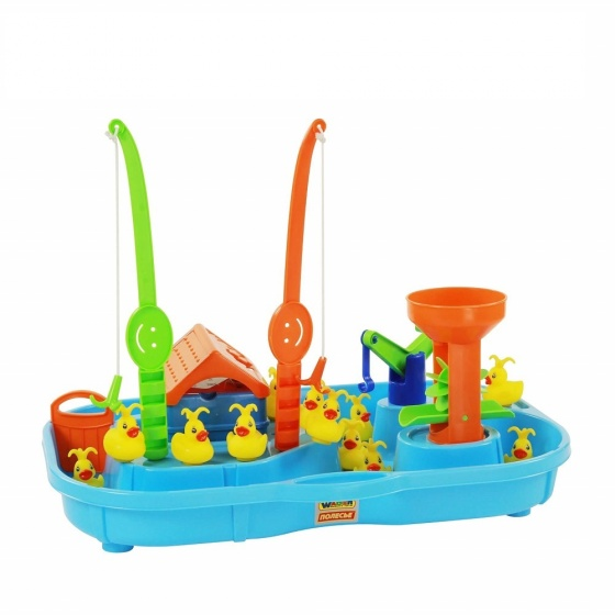 Bộ đồ chơi câu Vịt 2 cần câu Wader Quality Toys