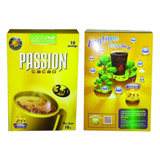 Cacao passion 3 in 1 (150g)