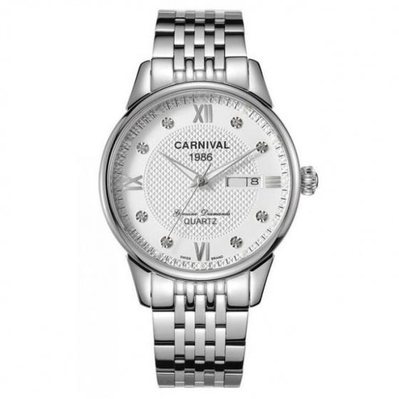 Đồng hồ nam dây thép Carnival G50202.201.011