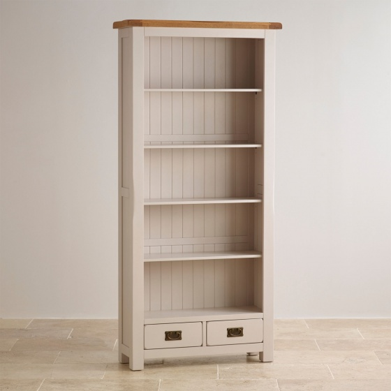 Tủ kệ sách cao Sintra gỗ sồi - Cozino