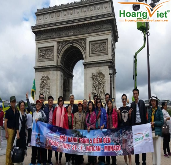 Tour du lịch Châu Âu: pháp - Thụy Sỹ - Ý - Vatican - Monaco 12 ngày bay hàng không tốt nhất thế giới Quatar Airways 5 sao