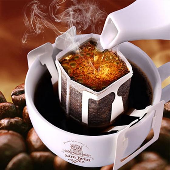 Cà phê túi lọc Arabica Cầu Đất hộp 10 gói x 12g