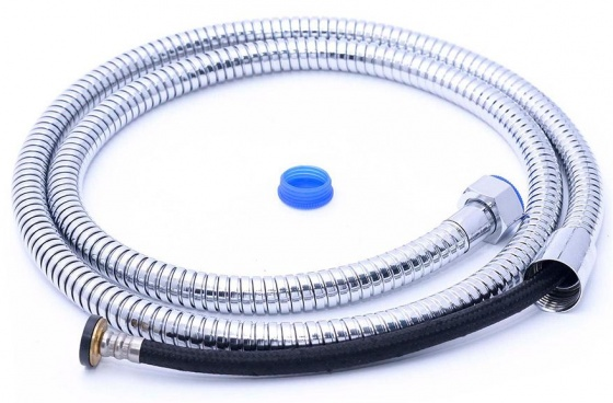 Bộ tay dây sen siêu tăng áp lõi lọc Nano Eurolife EL-109SH-N (trắng bạc)