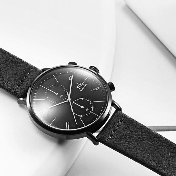 Đồng hồ nam chính hãng Shengke Korea K8063G-04