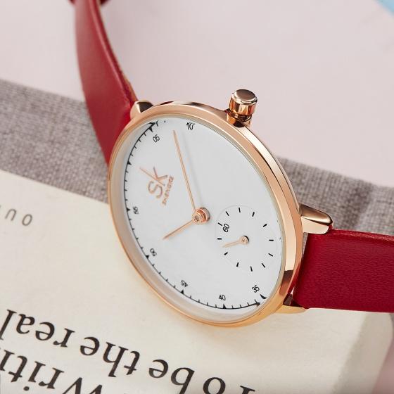 Đồng hồ nữ chính hãng Shengke UK K8004L-03