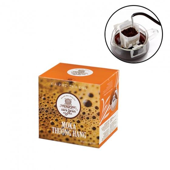 Cà phê túi lọc Moka thượng hạng hộp 10 gói x 12g