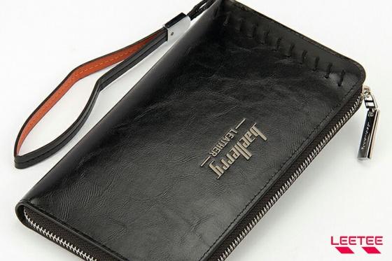 Ví cầm tay unisex, bóp cầm tay nam nữ da cao cấp (2 màu đen nâu) Manzo VCT001 - hàng đảm bảo chất lượng