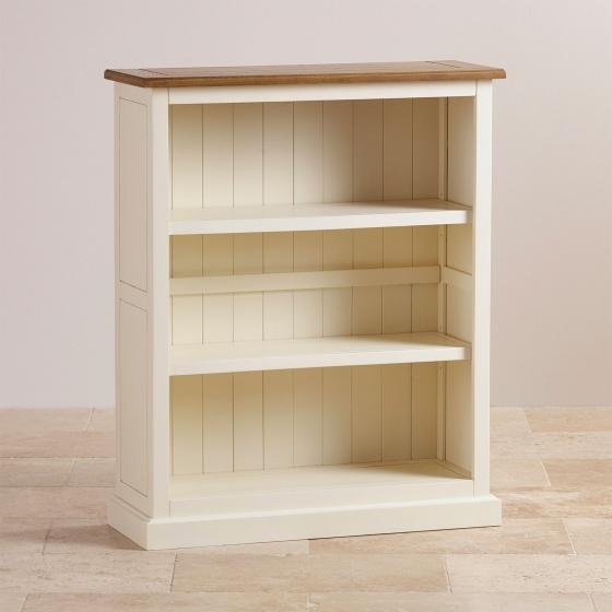 Tủ kệ sách thấp Chillon gỗ sồi - Cozino