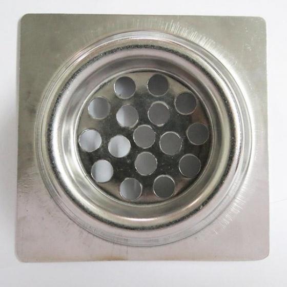Hố ga Inox SUS 304,12x12cm Eurolife EL-X35 (trắng bạc)
