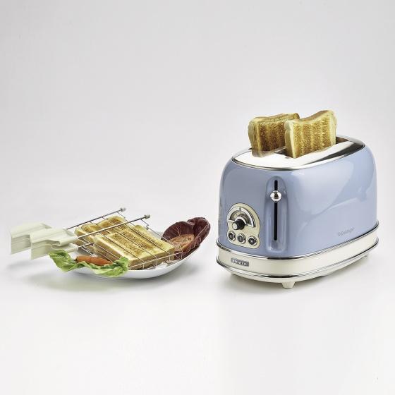 Nướng bánh mỳ 2 khay (Màu xanh da trời) Ariete  MOD.0155-05