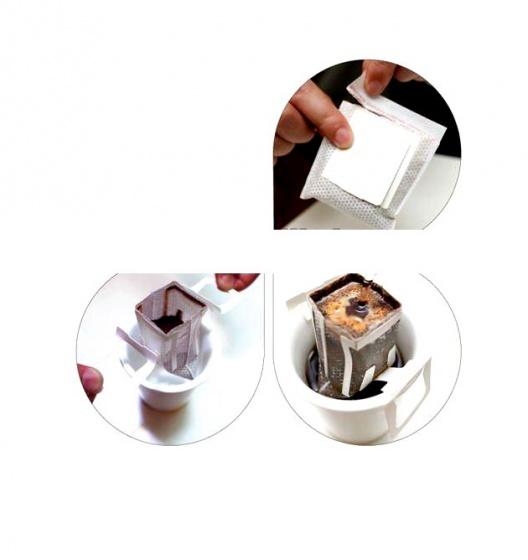 Cà phê túi lọc ly Moka thượng hạng ( khay 4 ly x 16g)