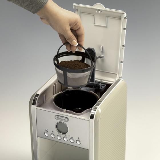 Máy pha cà phê tự động (Màu kem) Ariete MOD. 1342/03